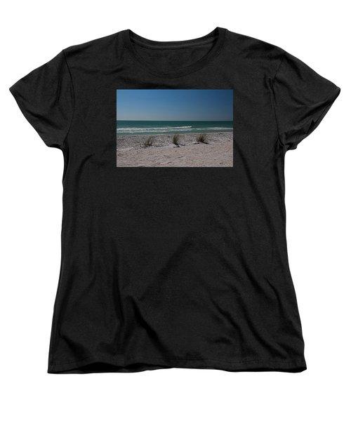Life's A Beach Women's T-Shirt (Standard Cut) by Michiale Schneider