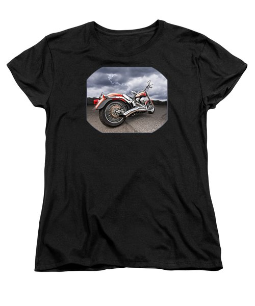 Lightning Fast - Screamin' Eagle Harley Women's T-Shirt (Standard Cut)