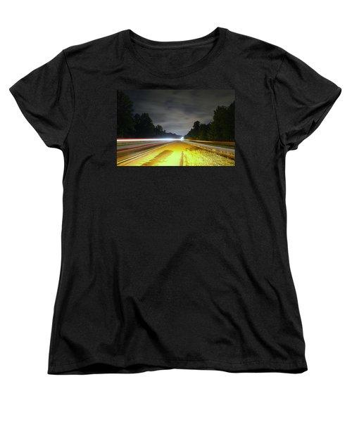 Women's T-Shirt (Standard Cut) featuring the photograph Lightworks by Alex Grichenko