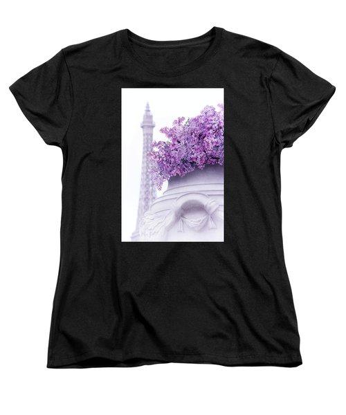 Lilac Tales Women's T-Shirt (Standard Cut) by Iryna Goodall