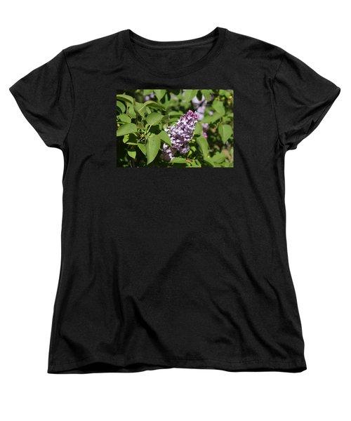 Women's T-Shirt (Standard Cut) featuring the photograph Lilacs 5551 by Antonio Romero