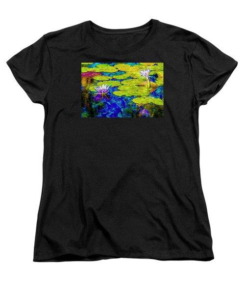 Women's T-Shirt (Standard Cut) featuring the photograph Lilly by Paul Wear