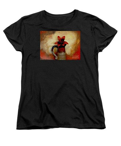 Lily Lovely Women's T-Shirt (Standard Cut) by Marsha Heiken