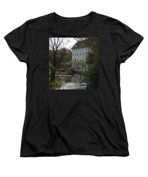Linden Mill Pond Women's T-Shirt (Standard Cut) by Tara Lynn