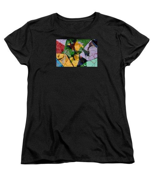 Linear Women's T-Shirt (Standard Cut) by Don Gradner
