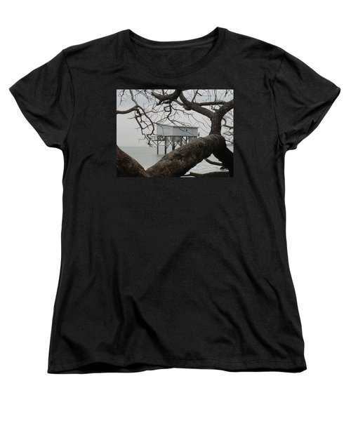 Women's T-Shirt (Standard Cut) featuring the photograph Little Blue Gone But Not Forgotten by Patricia Greer