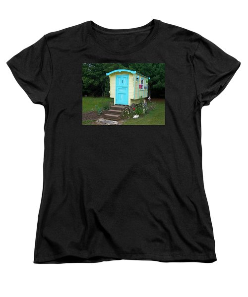 Little Gypsy Wagon II Women's T-Shirt (Standard Cut) by Judy Johnson