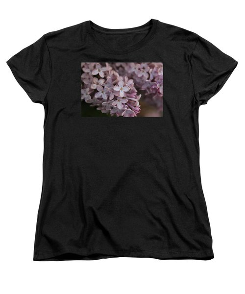 Little Pink Stars Women's T-Shirt (Standard Cut) by Christin Brodie