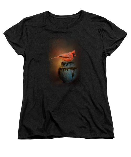 Little Red Guardian Women's T-Shirt (Standard Cut) by Jai Johnson