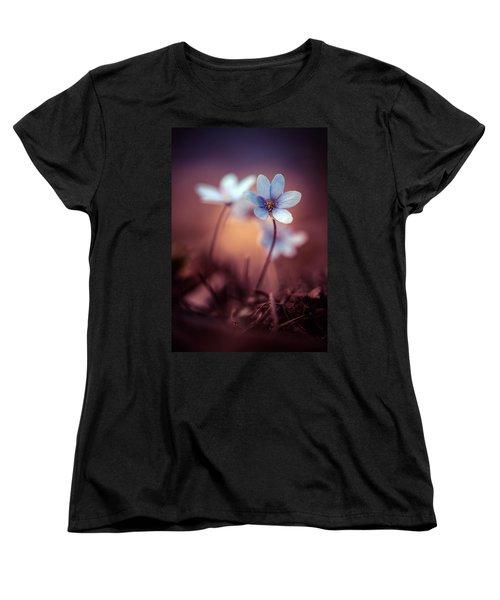 Liverworts Women's T-Shirt (Standard Cut) by Jaroslaw Blaminsky