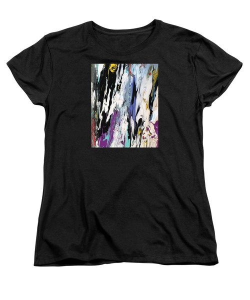 Livin' On The Edge Women's T-Shirt (Standard Cut)
