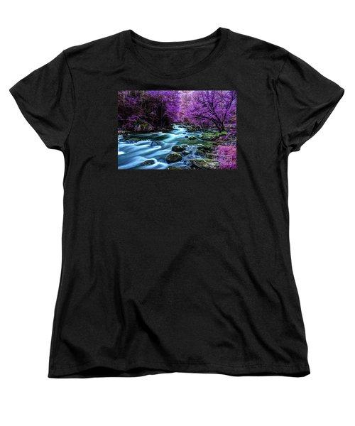 Living In Yesterday's Dream Women's T-Shirt (Standard Cut) by Michael Eingle