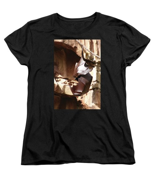 Living Sculpture Women's T-Shirt (Standard Cut) by Alycia Christine