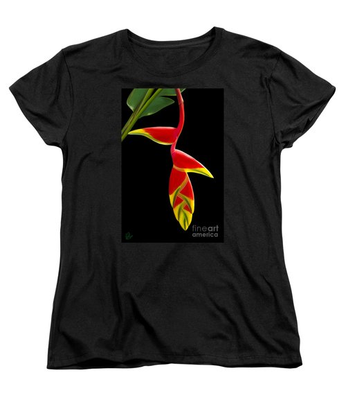 Lobster Claw Women's T-Shirt (Standard Cut) by Rand Herron