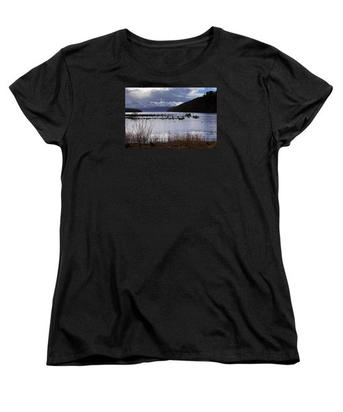 Women's T-Shirt (Standard Cut) featuring the photograph Loch Lomond by Jeremy Lavender Photography
