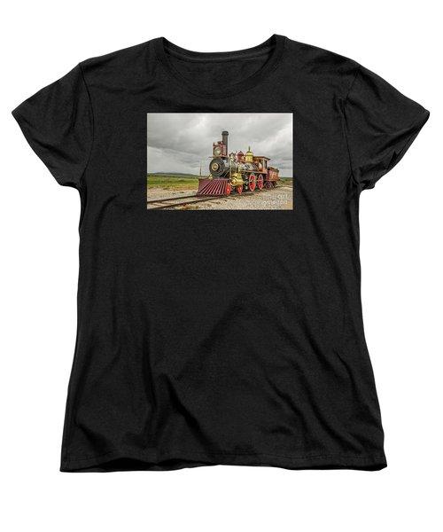 Locomotive No. 119 Women's T-Shirt (Standard Cut) by Sue Smith