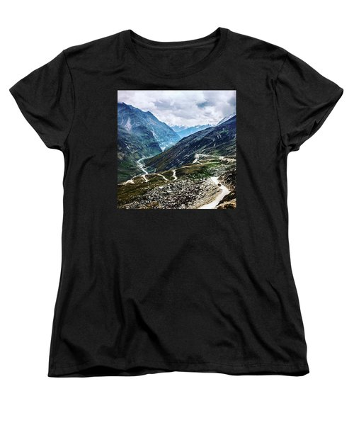 Long And Winding Roads Women's T-Shirt (Standard Cut)