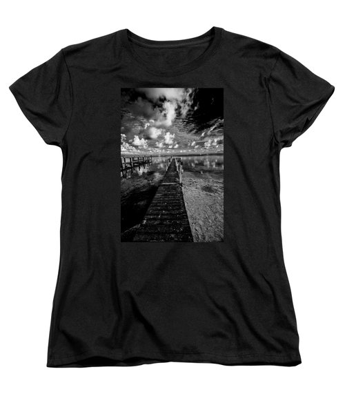 Long Dock Women's T-Shirt (Standard Cut) by Kevin Cable