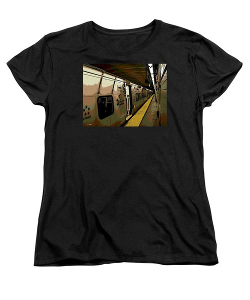 Long Island Railroad Women's T-Shirt (Standard Cut) by George Pedro