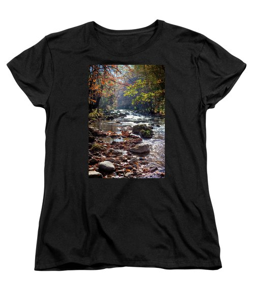 Women's T-Shirt (Standard Cut) featuring the photograph Longing For Home by Karen Wiles