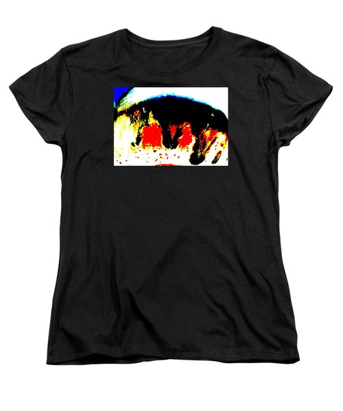 Look At Me Women's T-Shirt (Standard Cut) by Tim Townsend