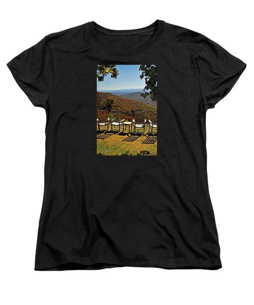 Relax And Enjoy Women's T-Shirt (Standard Cut) by Kay Lovingood