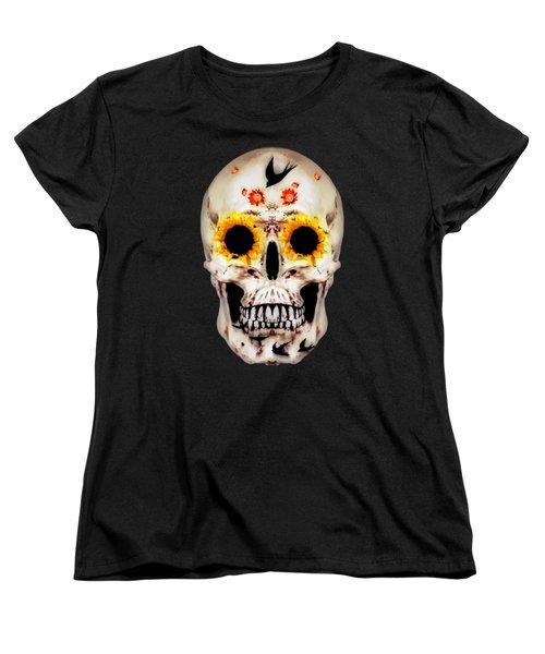 Looking Through Sunflowers Women's T-Shirt (Standard Cut)