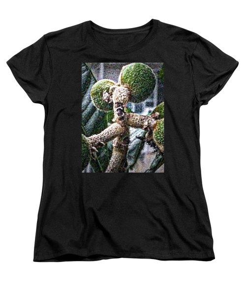 Loquat Man Photo Women's T-Shirt (Standard Cut) by Gina O'Brien