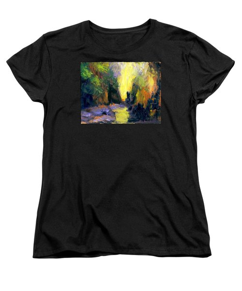 Lost Creek Women's T-Shirt (Standard Cut) by Gail Kirtz