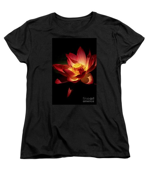 Lotus Blossom Women's T-Shirt (Standard Cut) by Paul W Faust -  Impressions of Light
