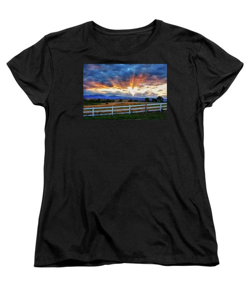 Women's T-Shirt (Standard Cut) featuring the photograph Love Is In The Air by James BO Insogna