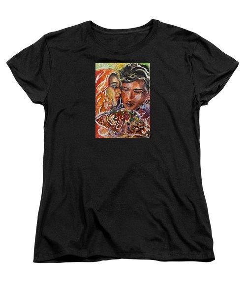 Lovers Women's T-Shirt (Standard Cut) by Rita Fetisov