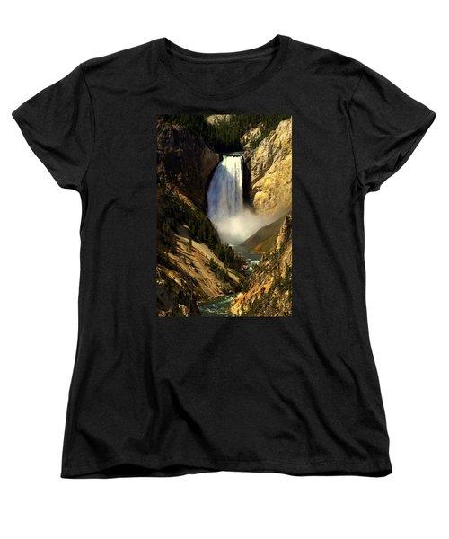 Lower Falls 2 Women's T-Shirt (Standard Cut) by Marty Koch