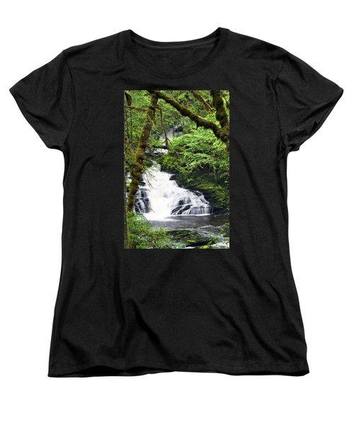Lower Lunch Creek Falls Women's T-Shirt (Standard Cut)