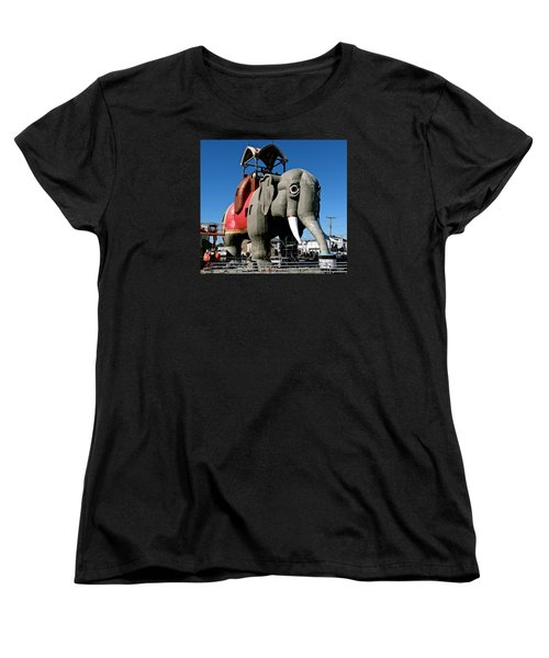 Lucy The Elephant Women's T-Shirt (Standard Cut) by Ira Shander