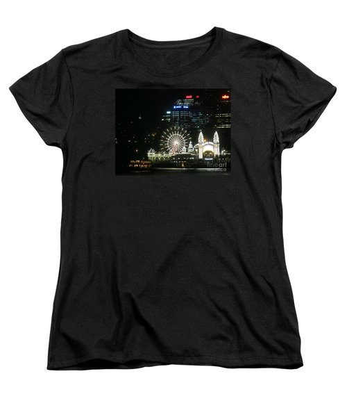 Women's T-Shirt (Standard Cut) featuring the photograph Luna Park by Leanne Seymour
