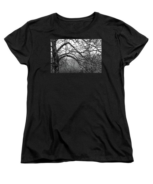 Women's T-Shirt (Standard Cut) featuring the photograph Lure Of Mystery by Karen Wiles
