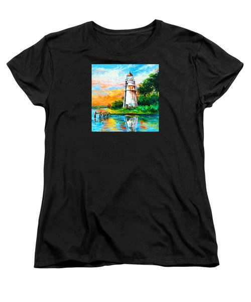 Madisonville Sunset Women's T-Shirt (Standard Cut) by Dianne Parks