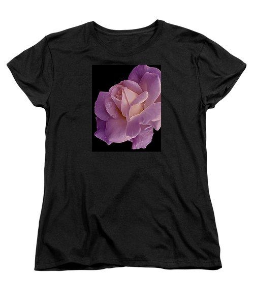 Magenta Queen 8  Women's T-Shirt (Standard Cut) by Lynda Lehmann