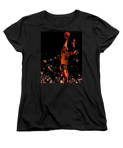 Magic Johnson Lean Back II Women's T-Shirt (Standard Cut)