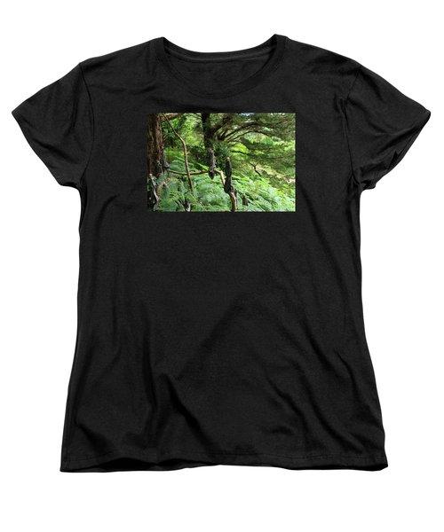Magical Forest Women's T-Shirt (Standard Cut) by Aidan Moran
