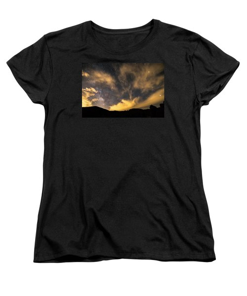 Women's T-Shirt (Standard Cut) featuring the photograph Magical Night by James BO Insogna
