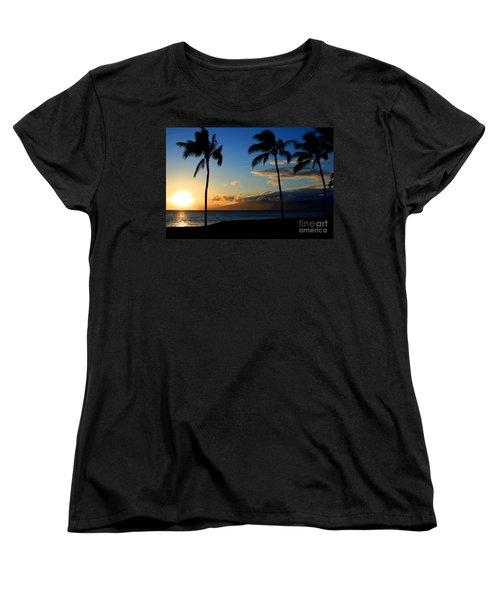 Mai Ka Aina Mai Ke Kai Kaanapali Maui Hawaii Women's T-Shirt (Standard Cut)