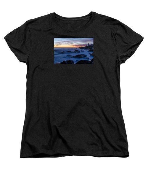 Maine Women's T-Shirt (Standard Cut) by Paul Noble