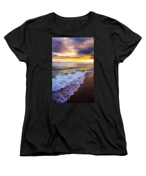 Women's T-Shirt (Standard Cut) featuring the photograph Majestic Sunset In Paradise by Shelby Young