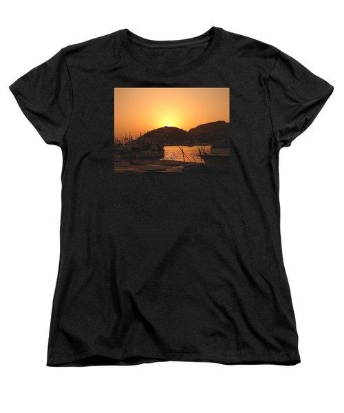 Women's T-Shirt (Standard Cut) featuring the photograph Mallorca 1 by Ana Maria Edulescu