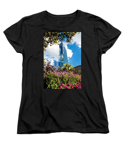 Man And Nature Women's T-Shirt (Standard Cut) by Greg Fortier