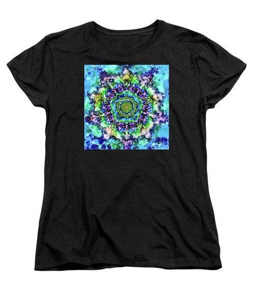 Mandala Art 1 Women's T-Shirt (Standard Cut) by Patricia Lintner