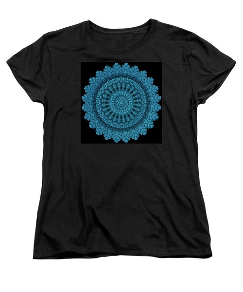 Women's T-Shirt (Standard Cut) featuring the digital art Mandala For The Masses by Lyle Hatch