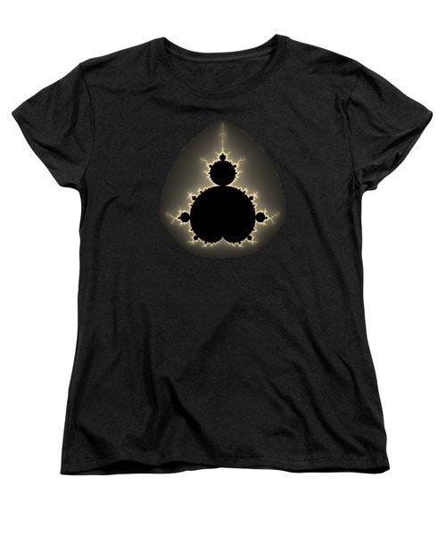 Mandelbrot Set Square Format Art Women's T-Shirt (Standard Cut)